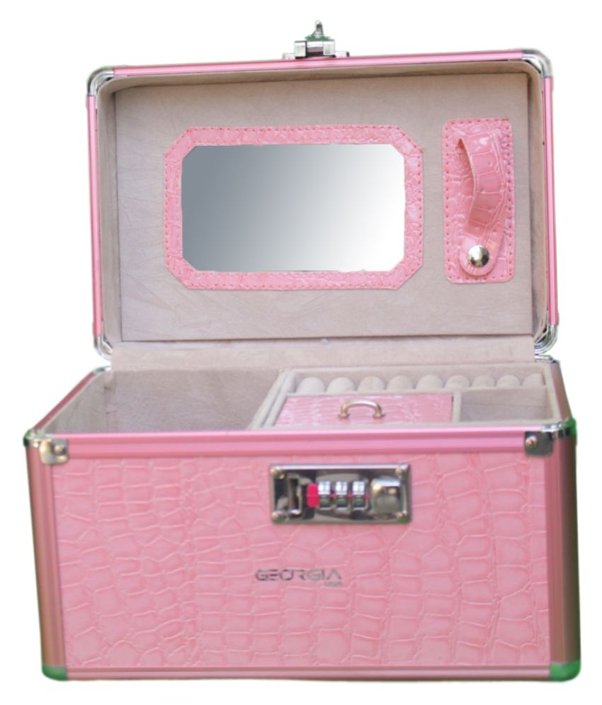 GeorgiaUSA Pink Jewellery Box