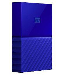 WD My Passport 2 TB External Hard Drive (Blue)