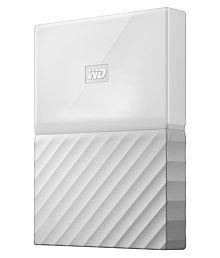 WD My Passport 1 TB External Hard Drive (White)