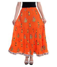 Jaipur Skirt Cotton Broomstick Skirt