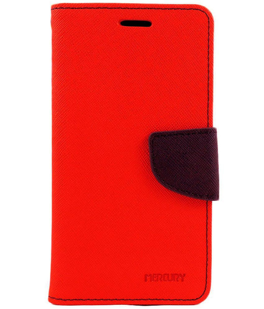 LeEco Le 1s Eco Flip Cover by Hutz - Red