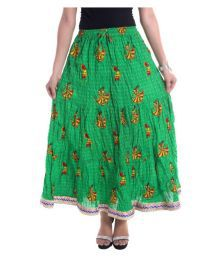Jaipur Skirt Cotton Straight Skirt
