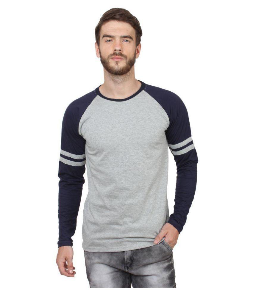 Say It Loud Grey Round T-Shirt