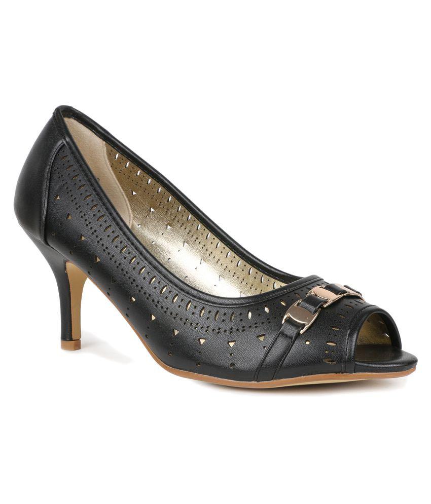 Tresmode Black Heels