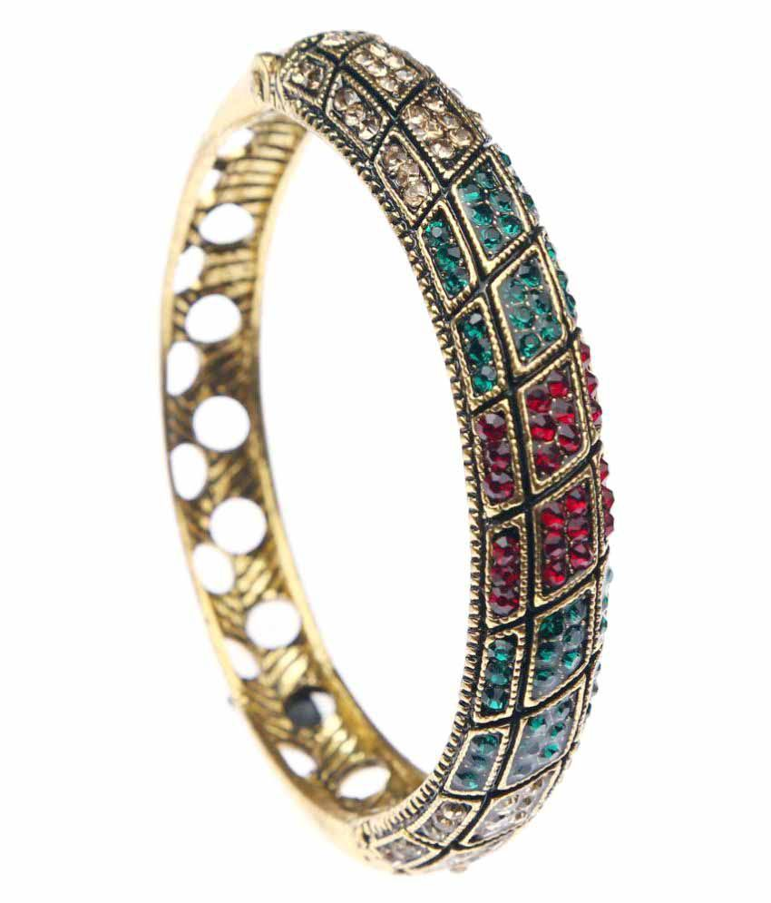 Meghan Multicolour Alloy Kada For Women