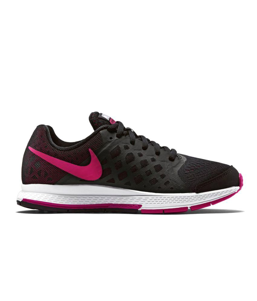 Nike Zoom Pegasus 31 Black Football Shoes - Buy Nike Zoom ...