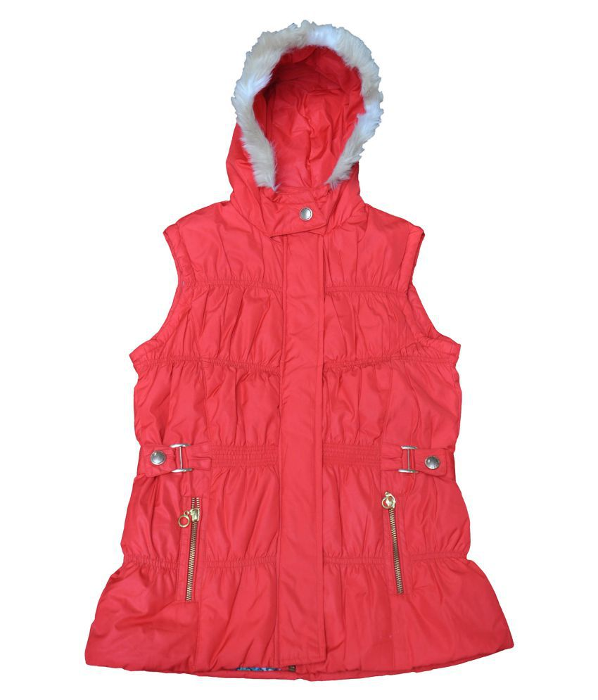 Ziama Red Fleece Light Weight Jacket