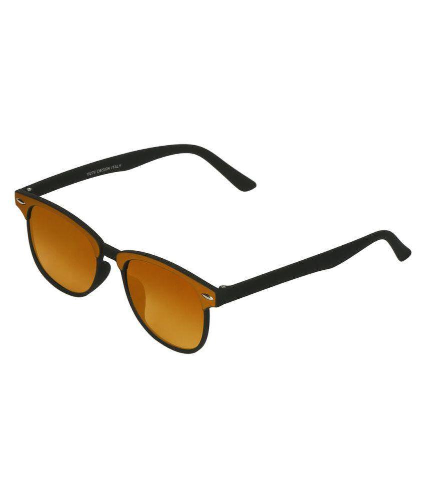 Fluid Yellow Wayfarer Sunglasses