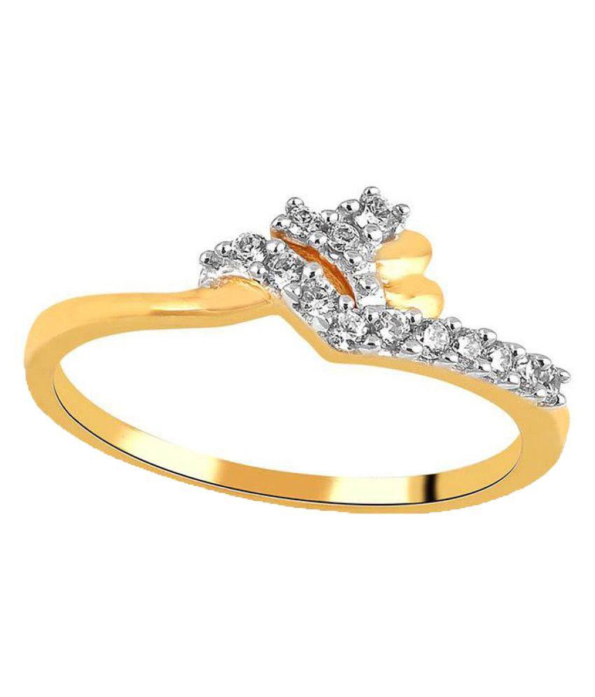 Shuddhi 18k Yellow Gold Diamond Ring