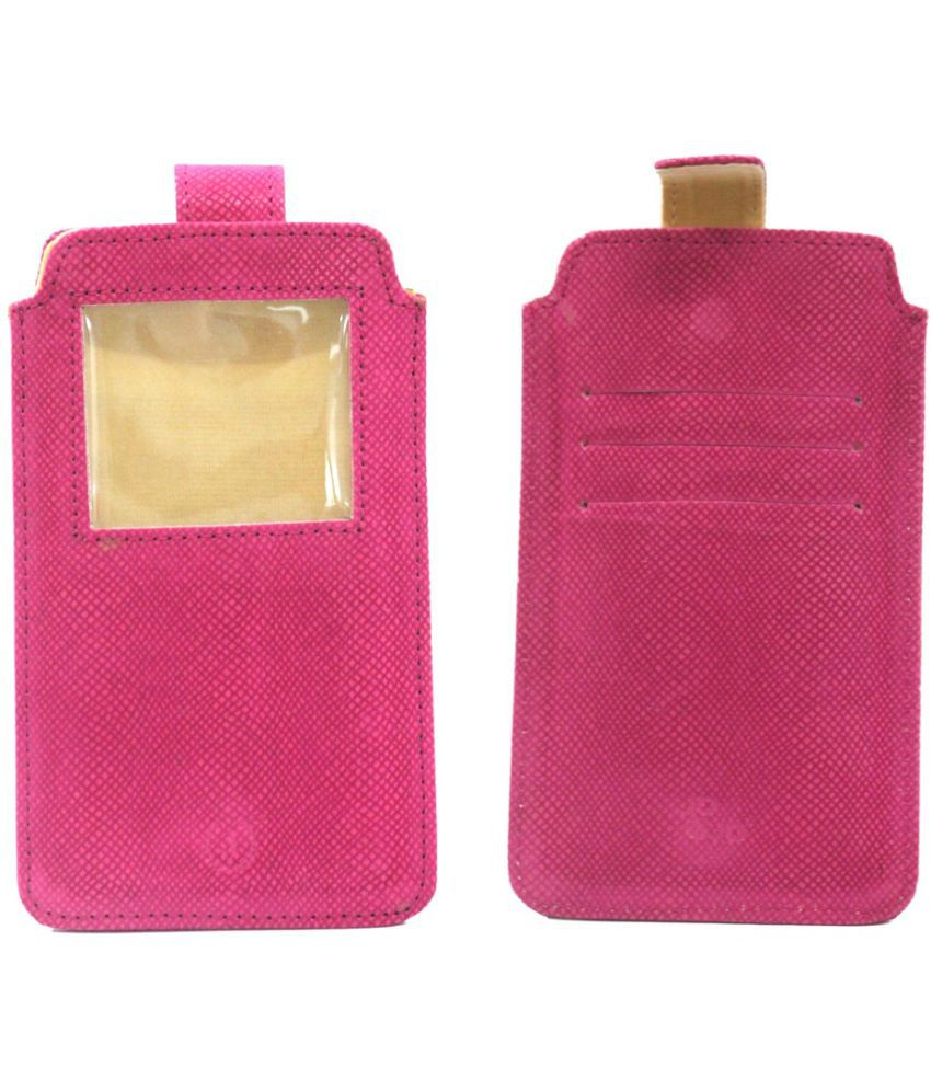 Xolo Q600 Holster Cover by Jojo - PinK