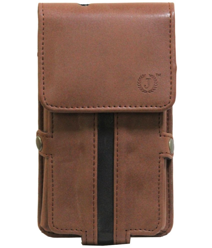 ZTE Q519T Holster Cover by Jojo - Brown