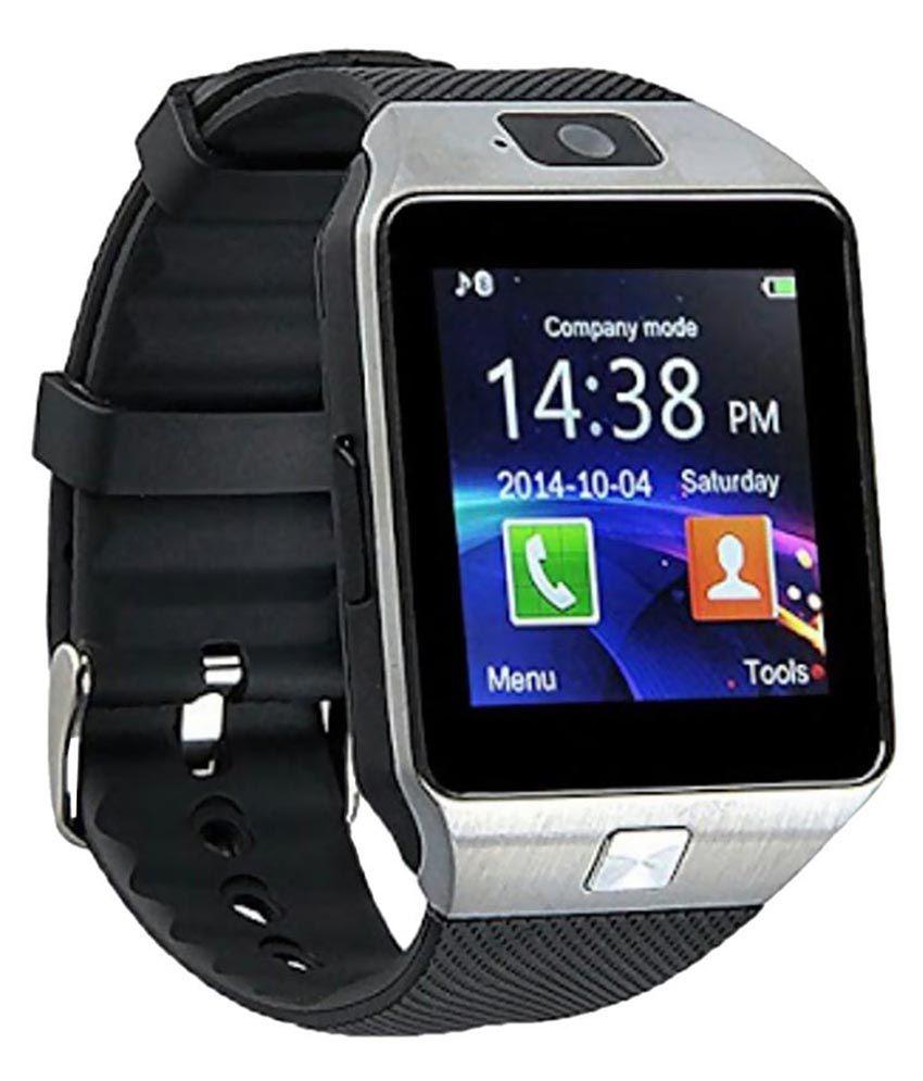 Shan bt dz09 Watch Phones Black