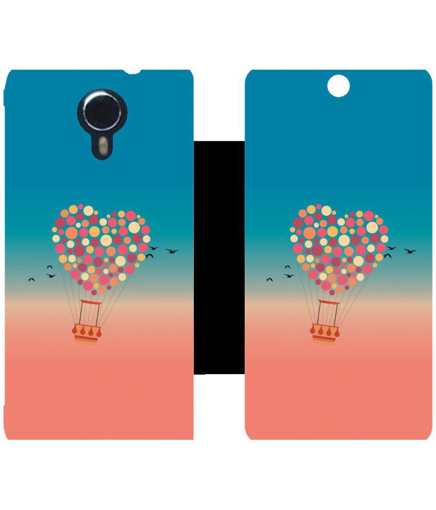 Micromax Canvas Xpress 2 E313 Flip Cover by Skintice - Pink