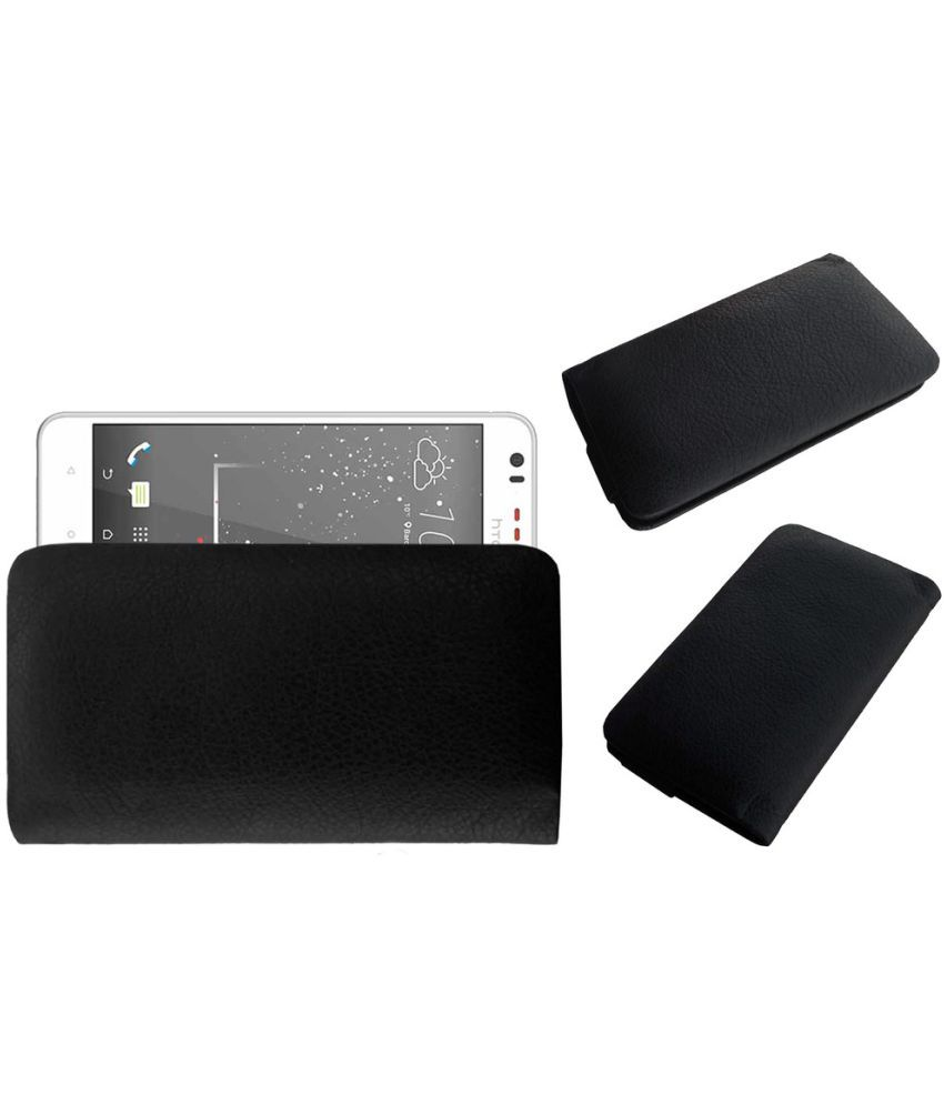 HTC Desire 825 Holster Cover by ACM - Black