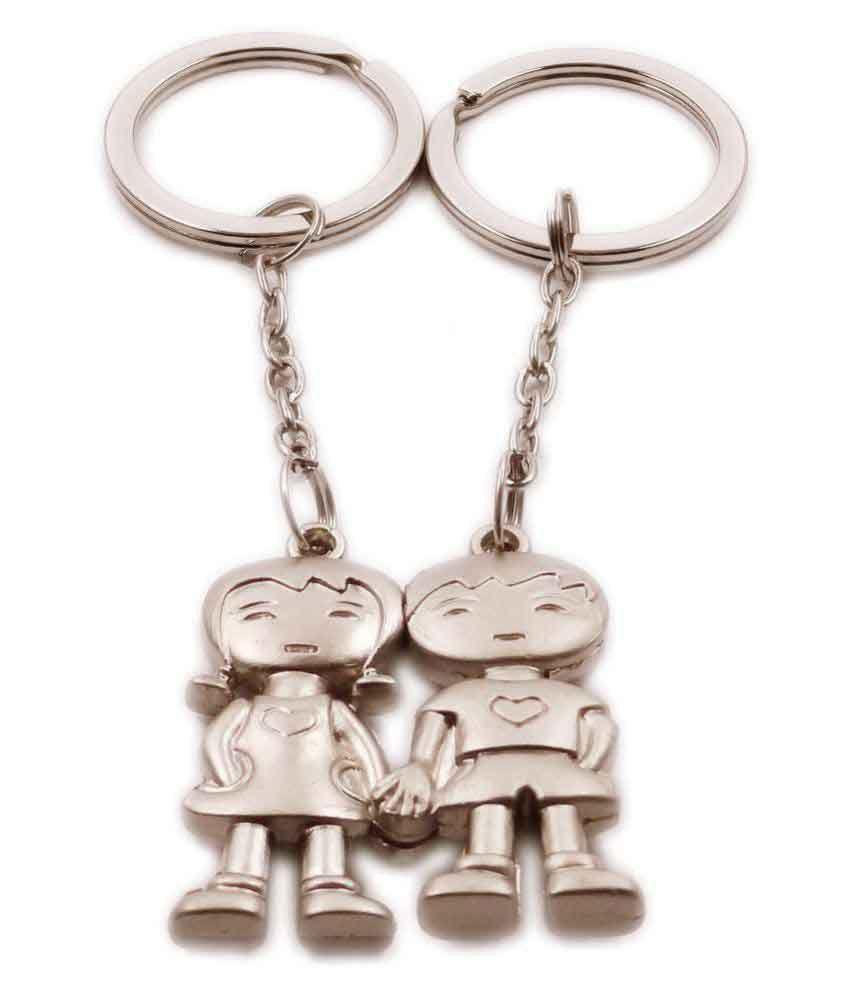 Aditya Traders Classy Love Couple Magnet Designer