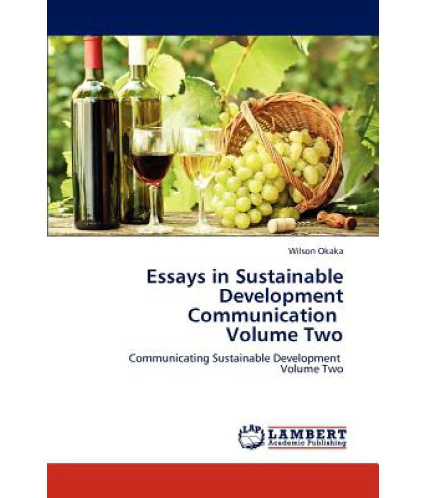essays in sustainable development communication volume two buy essays in sustainable development communication volume two