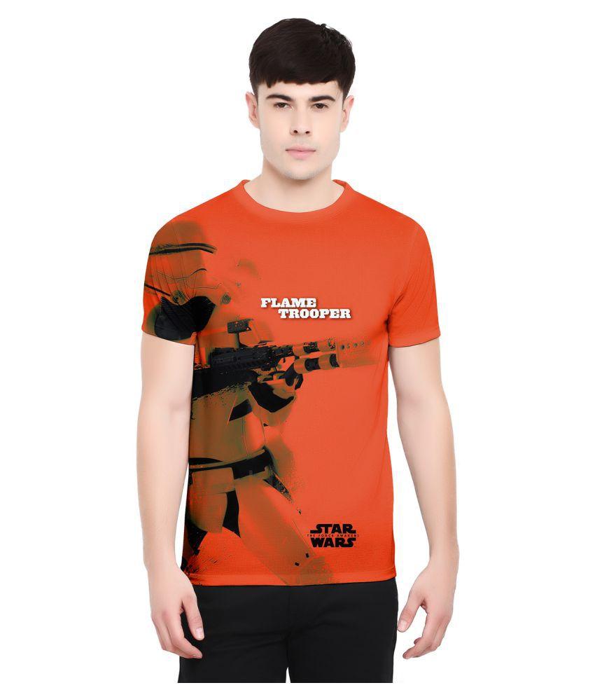 Star Wars Orange Round T-Shirt