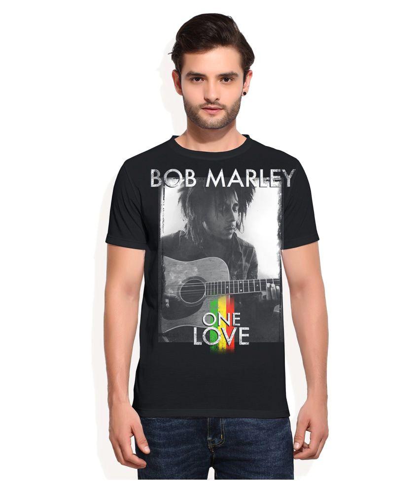 Universal Music Black Round T-Shirt
