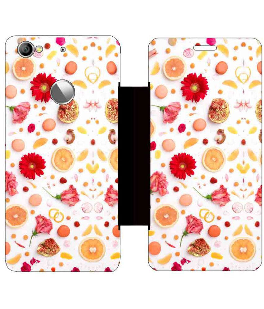 Letv Le 1S Flip Cover by Skintice - Yellow