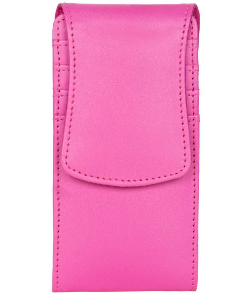 Lava X38 Holster Cover by Senzoni - Pink