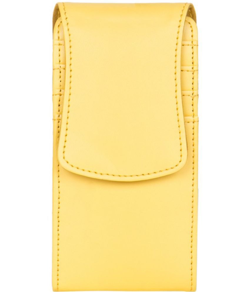 Vivo Y33 Holster Cover by Senzoni - Yellow
