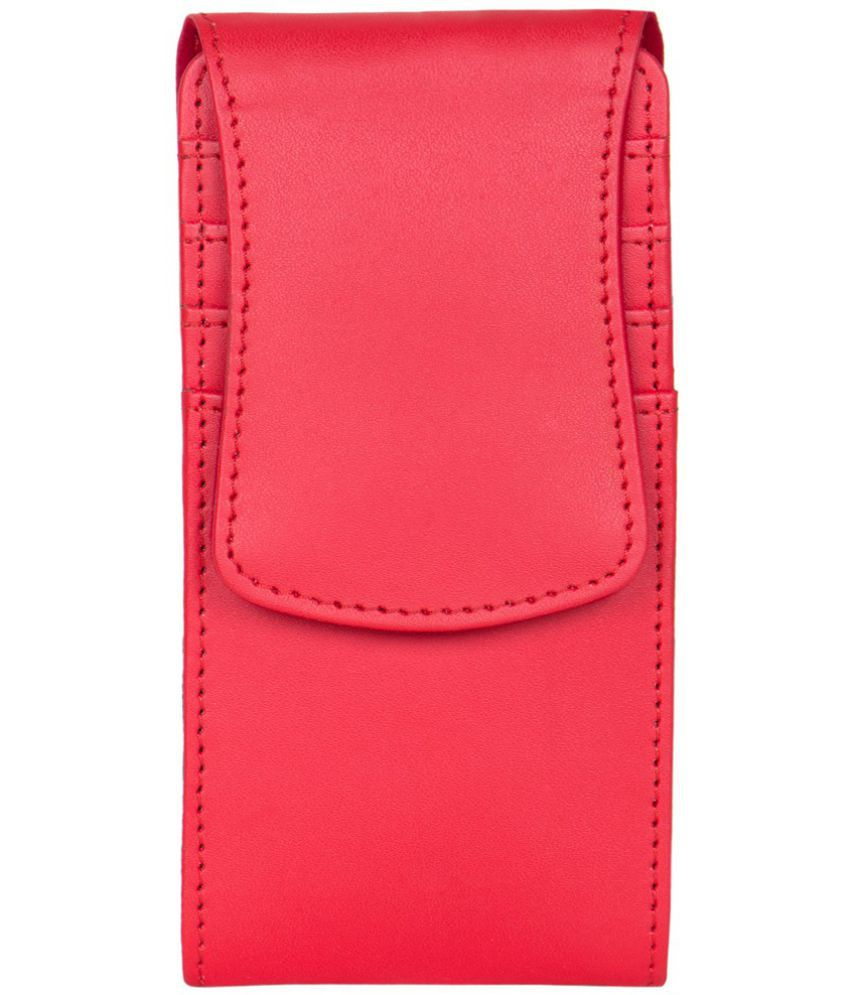 Gionee Pioneer P3 Holster Cover by Senzoni - Red