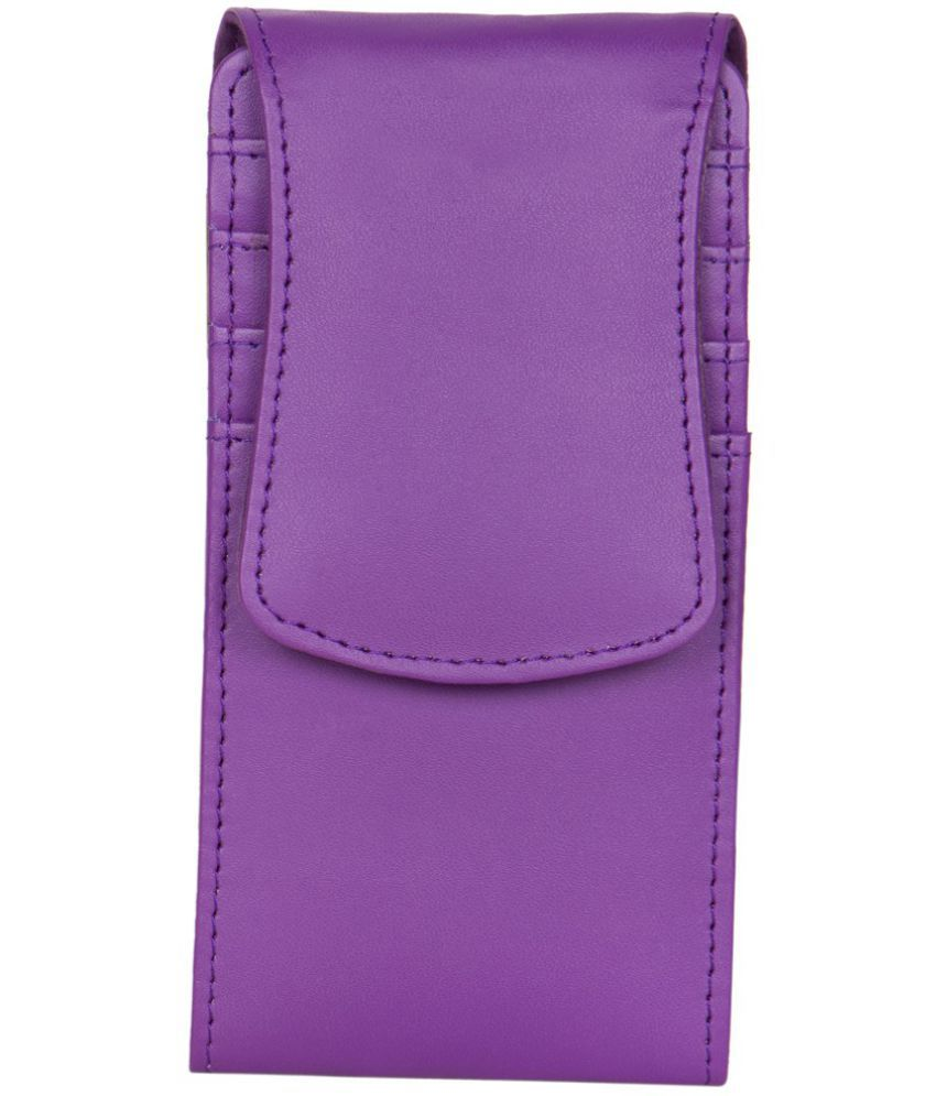 Videocon A31 Holster Cover by Senzoni - Purple