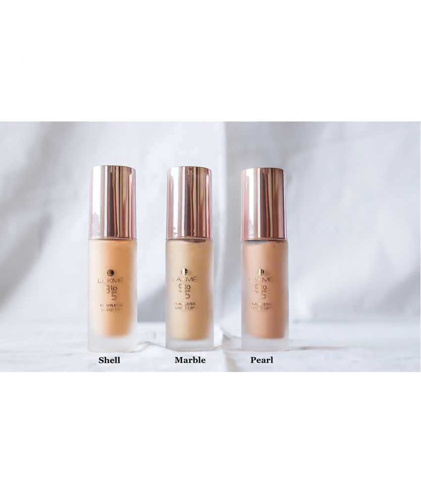 Lakme 9 To 5 Flawless Makeup Foundation, Shell, 30 Ml: Buy Lakme 9 To 5 Flawless Makeup Foundation, Shell, 30 Ml at Best Prices in India - Snapdeal