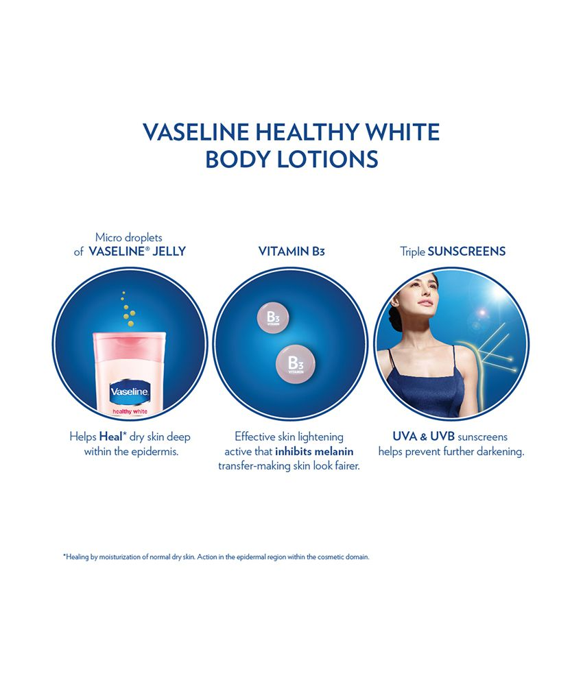 Vaseline Healthy White Lightening Body Lotion 200 Ml Buy Perfect 10 200ml Twin Pack