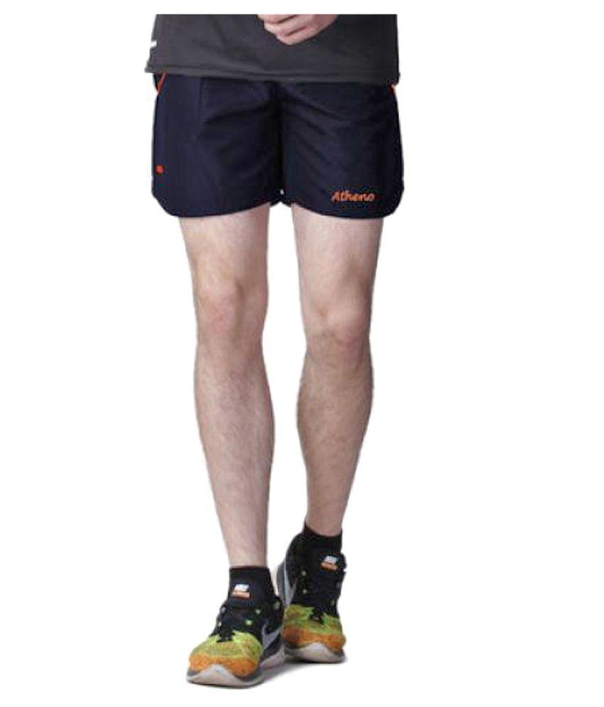 Atheno Mens Sports Gym Running Shorts