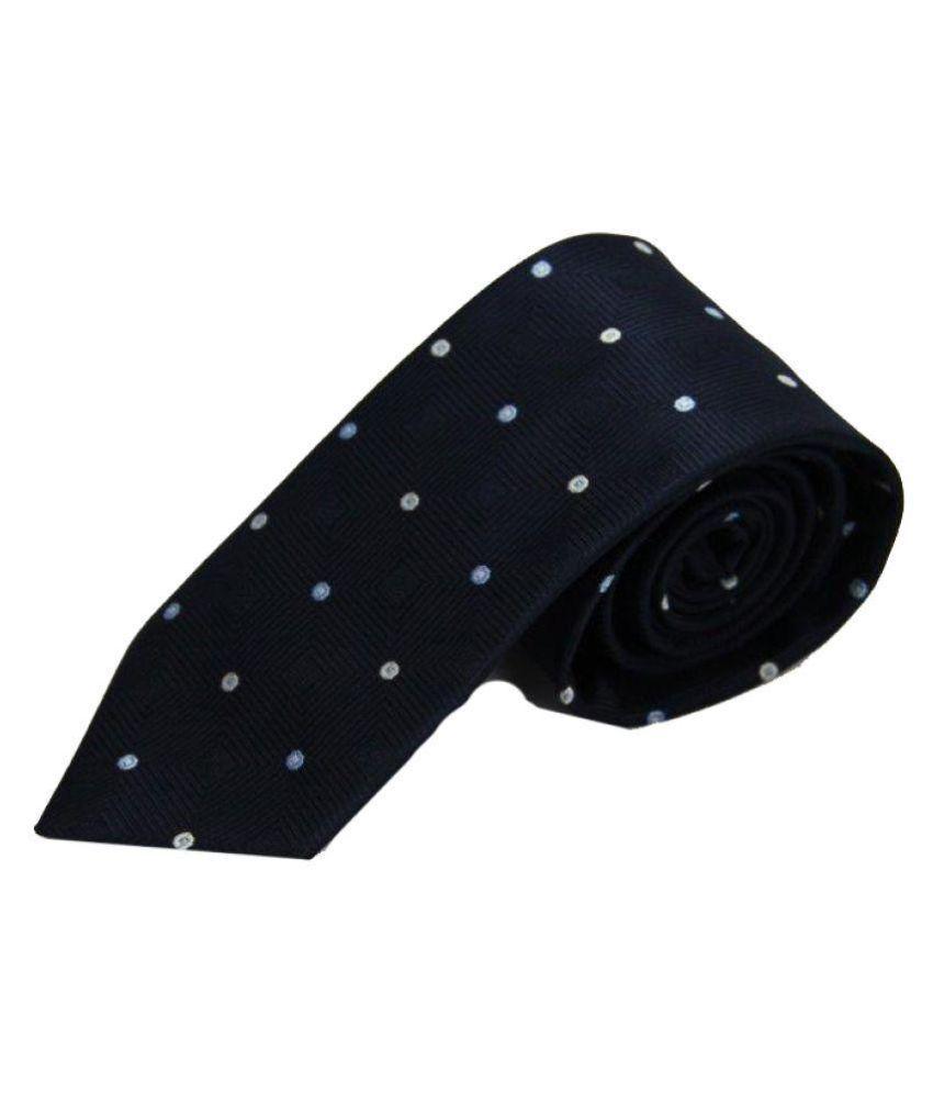 The Vatican Black Formal Necktie