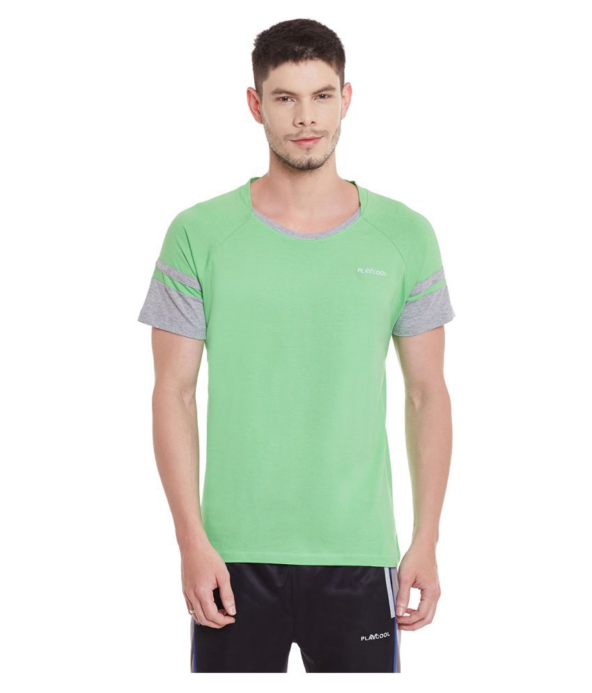 Yepme Green Round T-Shirt