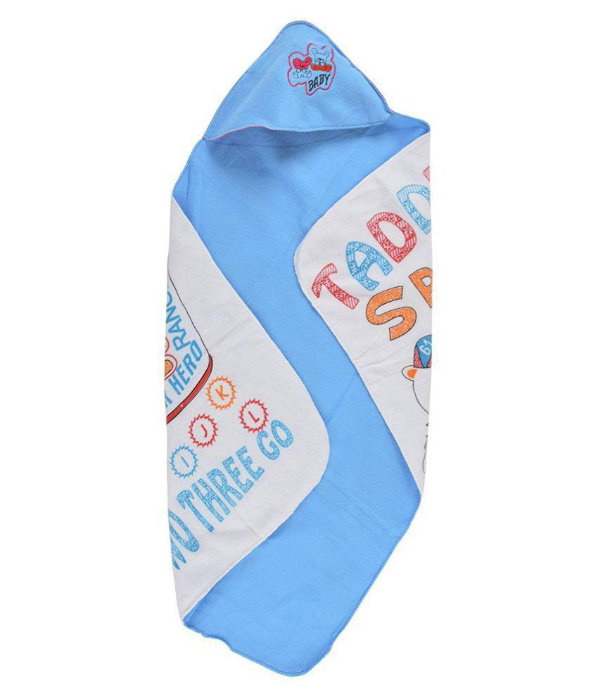 Best Blue Baby Wrap with Hooded Cap