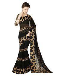 Roop Kashish Black Georgette Saree