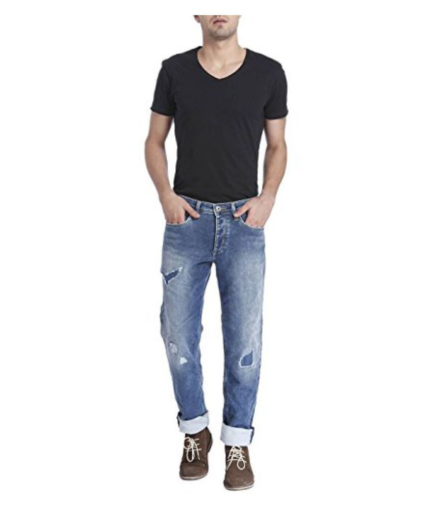 Jack & Jones Blue Slim Faded