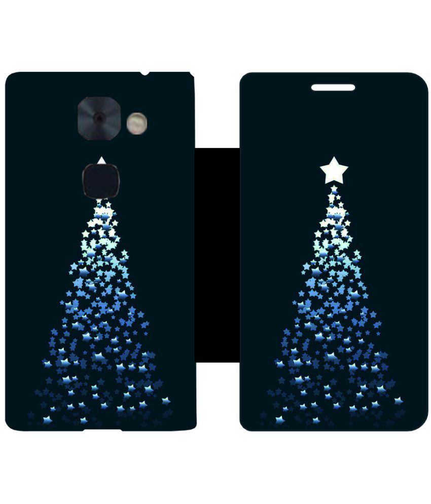 LeEco Le2 Flip Cover by Skintice - Black