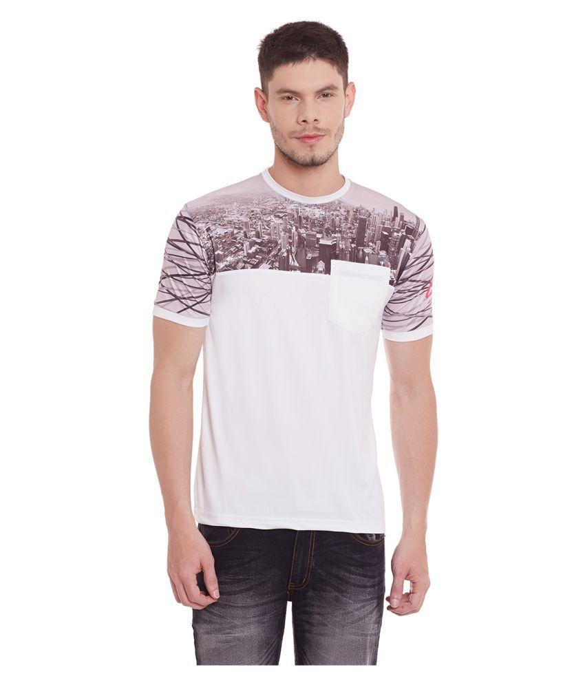 Yepme White Round T-Shirt