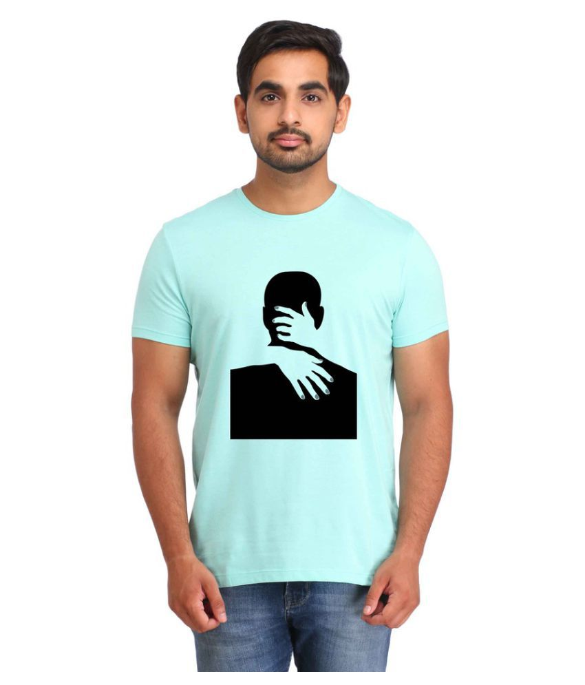 Snoby Turquoise Round T-Shirt