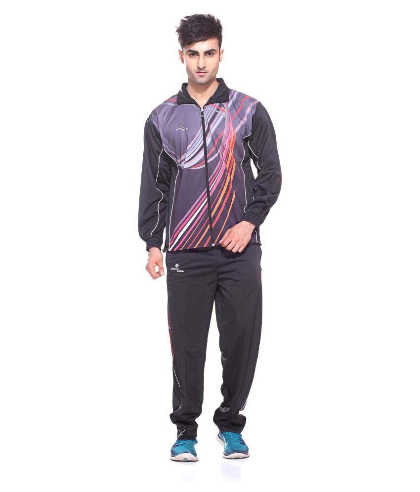 Sport Sun Multicolor Polyester Tracksuit