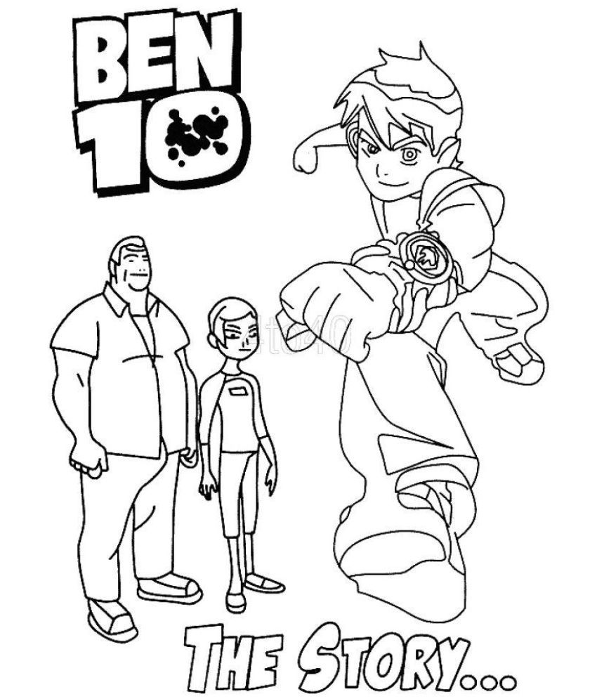 Sticker Bazaar Set Of 5 Ben 10 Ultimate Alien Coloring Book