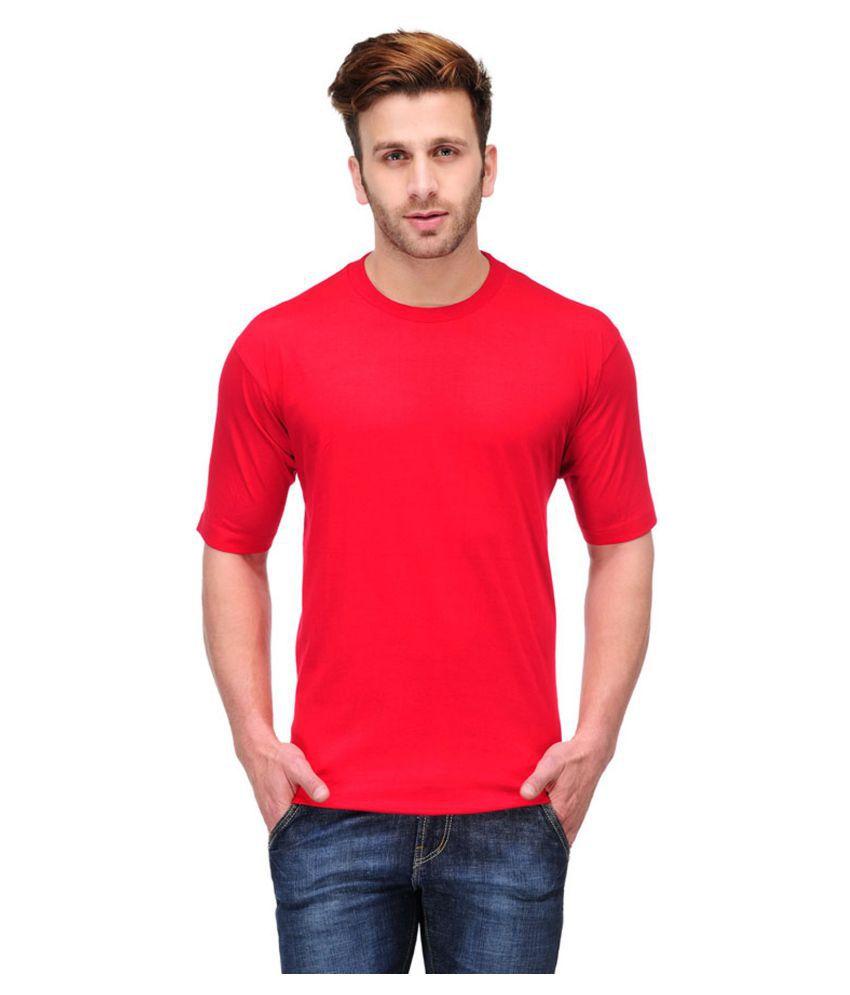 Trudam Red Round T-Shirt