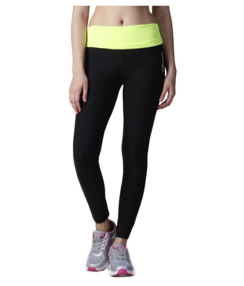Atheno Womens Sports Lycra Gym Legging