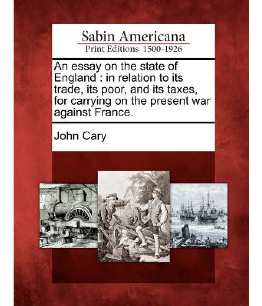john cary an essay on the state of england