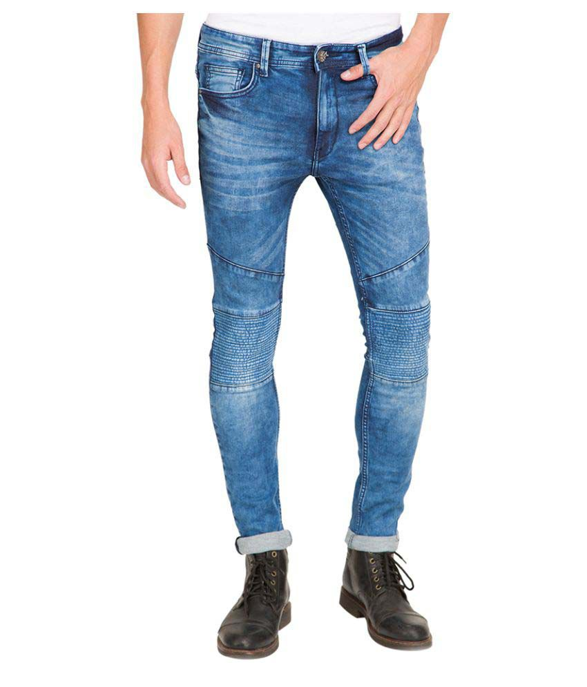 Locomotive Indigo Blue Skinny Washed