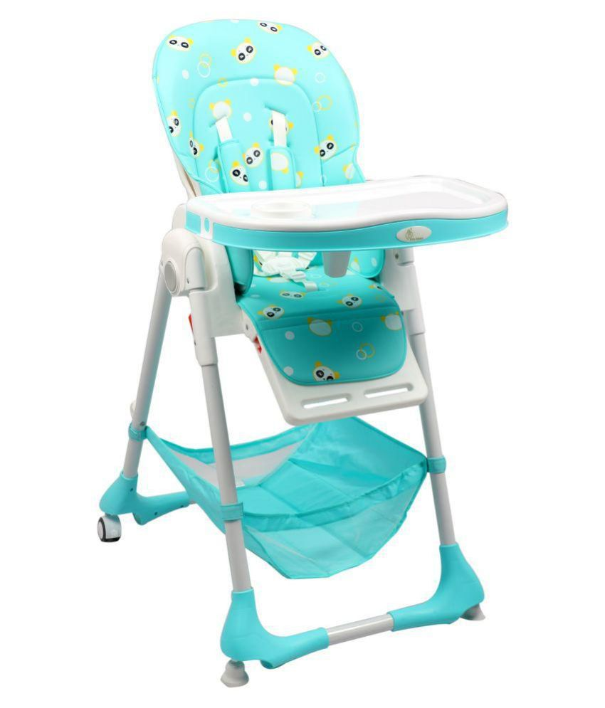 R for Rabbit Marshmallow  Blue- The Smart High Chair
