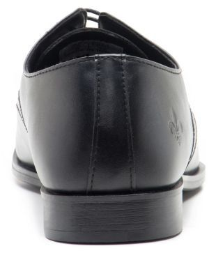 Red Tape Black Derby Formal Shoes Price