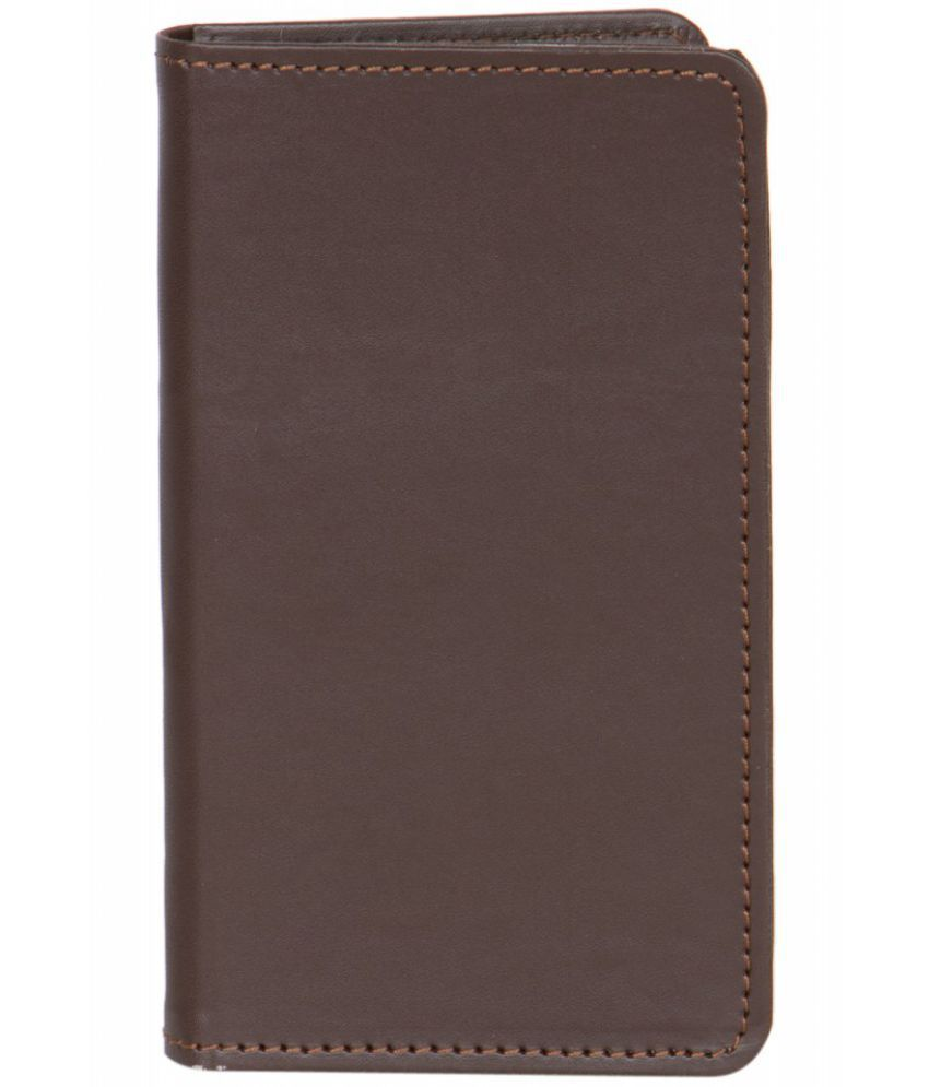 Celkon Campus Pride Holster Cover by Senzoni - Brown