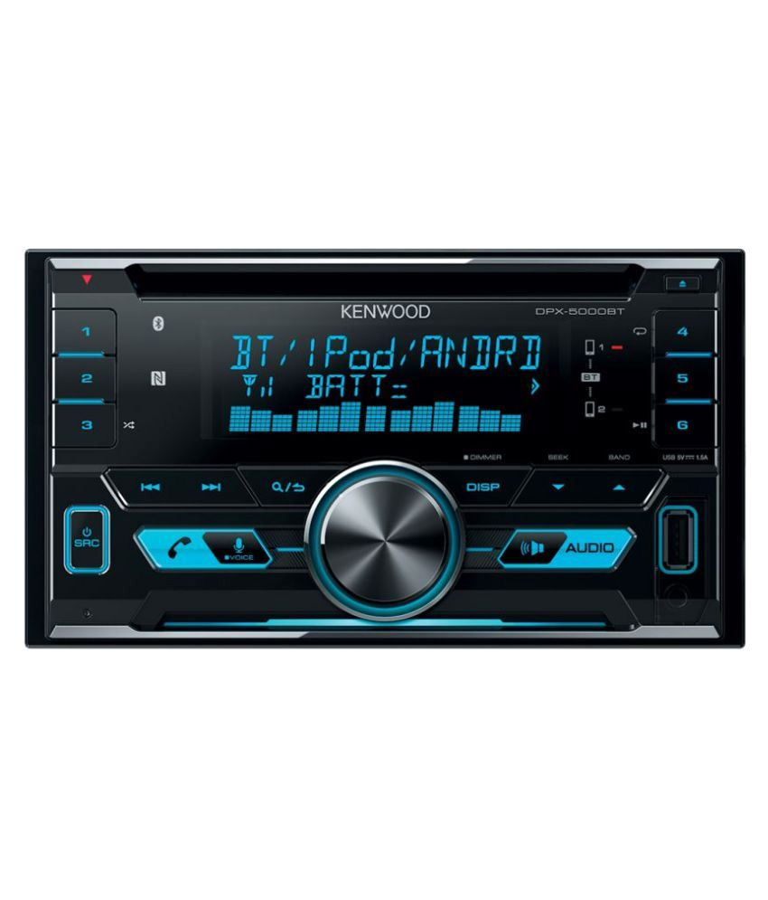 Kenwood DPX 5000BT Double DIN Car Stereo: Buy Kenwood DPX