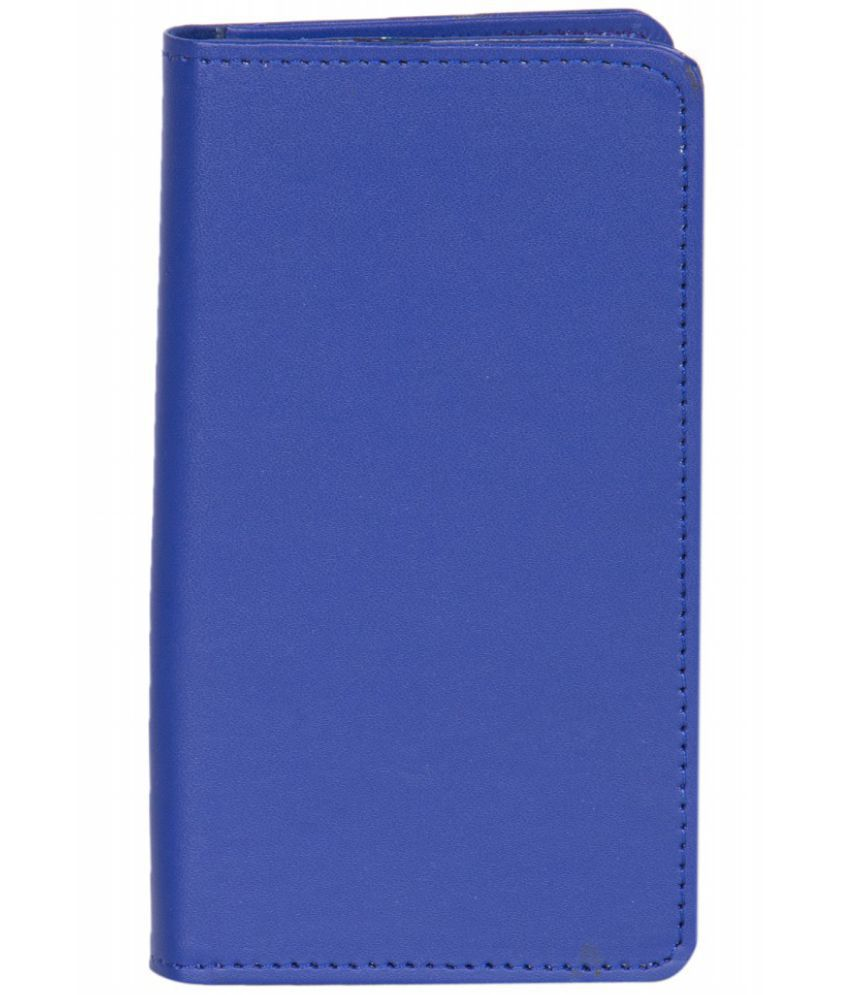 Karbonn A12 Holster Cover by Senzoni - Blue