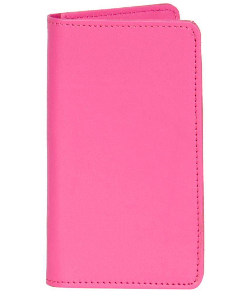 Micromax Canvas Spark Holster Cover by Senzoni - Pink